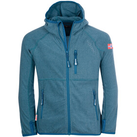TROLLKIDS Sandefjord Giacca Bambino, dolphin blue/petrol